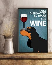 Dog Cocker Spaniel And Wine 16x24 Poster lifestyle-poster-3