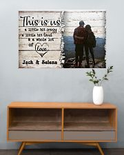 Hiking This Is Us A Little Bit Crazy 36x24 Poster poster-landscape-36x24-lifestyle-21