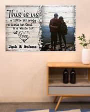 Hiking This Is Us A Little Bit Crazy 36x24 Poster poster-landscape-36x24-lifestyle-22