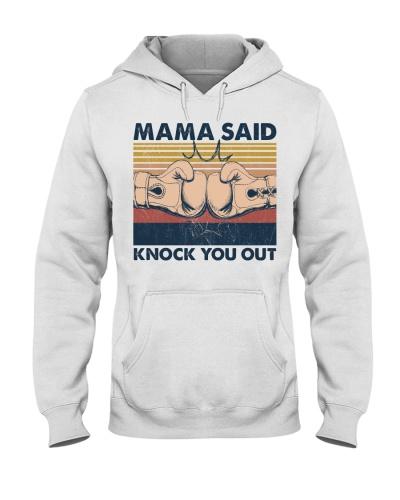 Boxing Mama Said Knock You Out