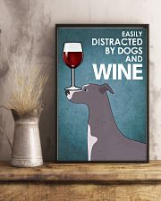 Dog Whippet And Wine 16x24 Poster lifestyle-poster-3