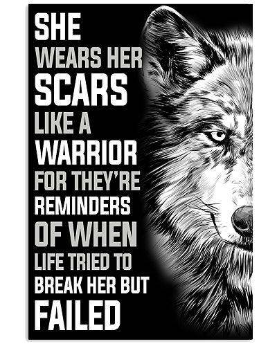 Wolf Like A Warrior