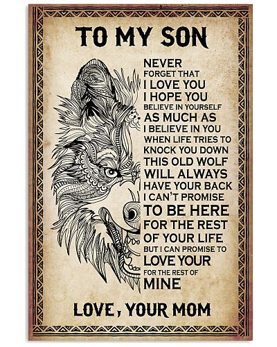 WOlve To My Son