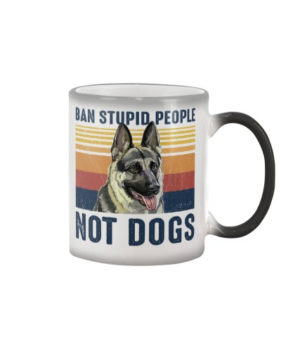 Dog K9 Ban Stupid People Not Dogs