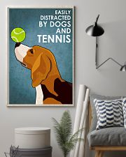 Dog Beagle And Tennis 16x24 Poster lifestyle-poster-1