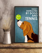 Dog Beagle And Tennis 16x24 Poster lifestyle-poster-3