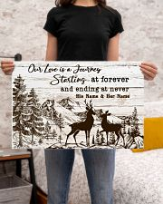 Hunting Our Love Is A Journey 24x16 Poster poster-landscape-24x16-lifestyle-20