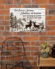 Hunting Our Love Is A Journey 24x16 Poster poster-landscape-24x16-lifestyle-24