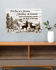 Hunting Our Love Is A Journey 24x16 Poster poster-landscape-24x16-lifestyle-25