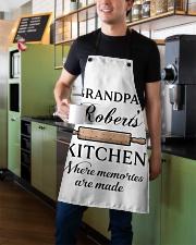 Baking Grandpa Kitchen Apron aos-apron-27x30-lifestyle-front-01