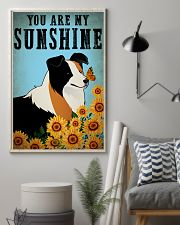 Dog Border Collie You Are My Sunshine 16x24 Poster lifestyle-poster-1