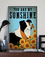Dog Border Collie You Are My Sunshine 16x24 Poster lifestyle-poster-2
