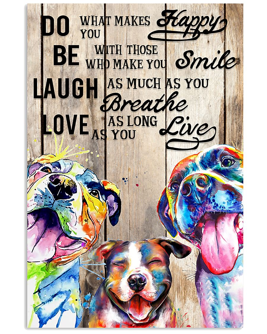 Dog Laugh Love Live 16x24 Poster