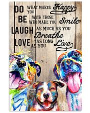 Dog Laugh Love Live 16x24 Poster front