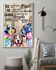 Dog Laugh Love Live 16x24 Poster lifestyle-poster-1