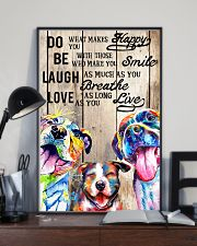 Dog Laugh Love Live 16x24 Poster lifestyle-poster-2