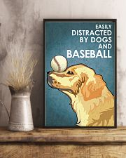 Dog Golden And Baseball 16x24 Poster lifestyle-poster-3