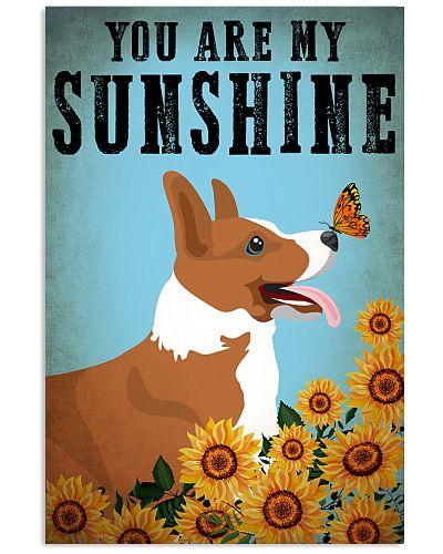 Dog Corgi You Are My Sunshine