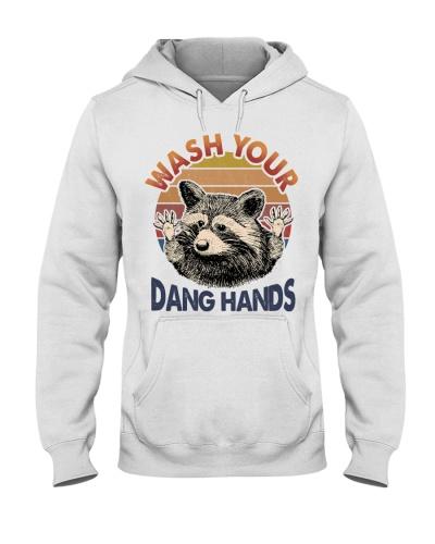 Raccoon Wash Your Dang Hands