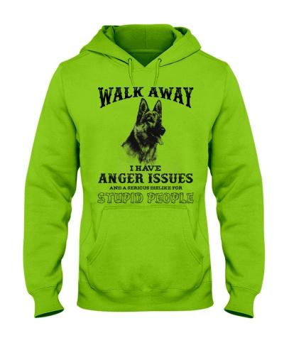 Dog German Shepherd Walk Away
