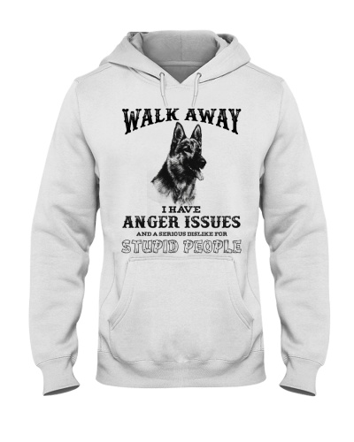 Dog German Shepherd Walk Away