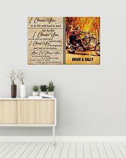 Biker I Choose You 36x24 Poster poster-landscape-36x24-lifestyle-01