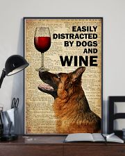 Dog K9 And Wine 16x24 Poster lifestyle-poster-2