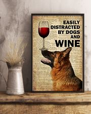 Dog K9 And Wine 16x24 Poster lifestyle-poster-3