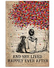 Dog Labrador Happily ever After 16x24 Poster front