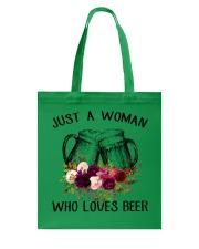 Beer Just A Woman - Hoodie And T-shirt Tote Bag thumbnail