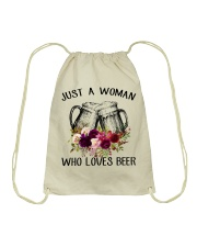 Beer Just A Woman - Hoodie And T-shirt Drawstring Bag thumbnail