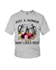 Beer Just A Woman - Hoodie And T-shirt Youth T-Shirt thumbnail