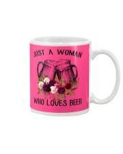 Beer Just A Woman - Hoodie And T-shirt Mug thumbnail
