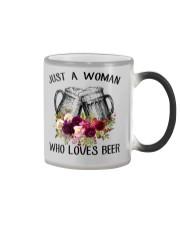 Beer Just A Woman - Hoodie And T-shirt Color Changing Mug thumbnail