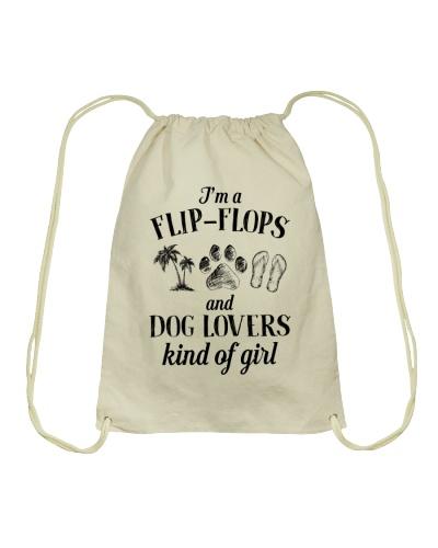 Dog I'm A Flip-Flops And Dog Lover Kind Of Girl