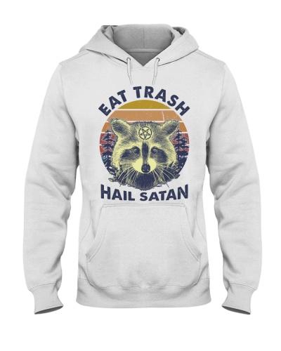 Raccoon Eat Trash Hail Satan