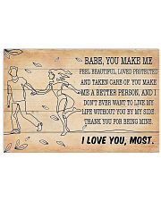 Family I Love You Most 36x24 Poster front
