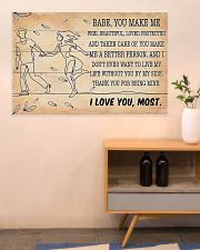 Family I Love You Most 36x24 Poster poster-landscape-36x24-lifestyle-22