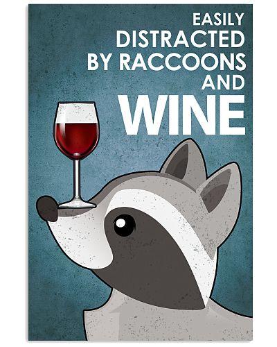 Raccoon And Wine