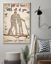 Skiing I Fell In Love With All Of You 24x36 Poster lifestyle-poster-1
