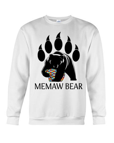 Autism Memaw Bear