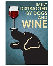 Dogs And Wine 16x24 Poster front