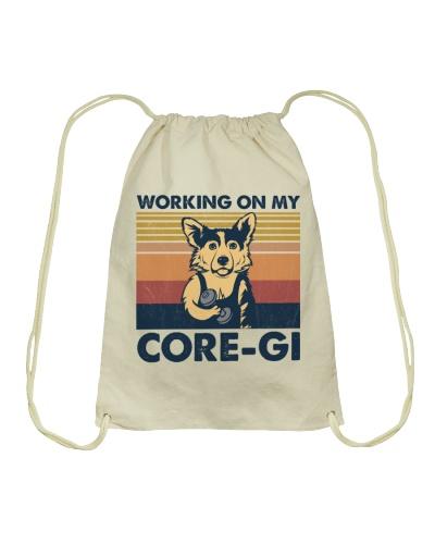 Dog Working On My Core-Gi