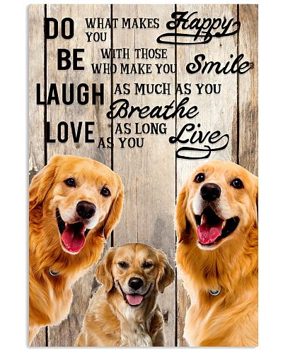 Dog Golden Laugh Love Live