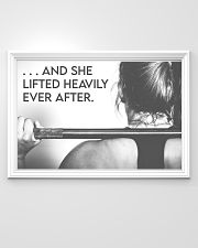 Fitness Heavily Ever After 36x24 Poster poster-landscape-36x24-lifestyle-02
