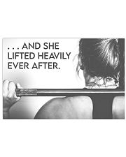 Fitness Heavily Ever After Horizontal Poster tile