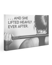 Fitness Heavily Ever After 30x20 Gallery Wrapped Canvas Prints thumbnail