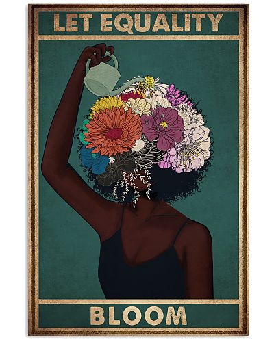 Black Let Equality Bloom