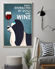 Dog Shih Tzu And Wine 16x24 Poster lifestyle-poster-1