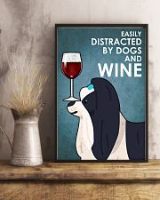 Dog Shih Tzu And Wine 16x24 Poster lifestyle-poster-3